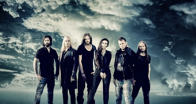 Amaranthe by Patric Ullaeus in the sky
