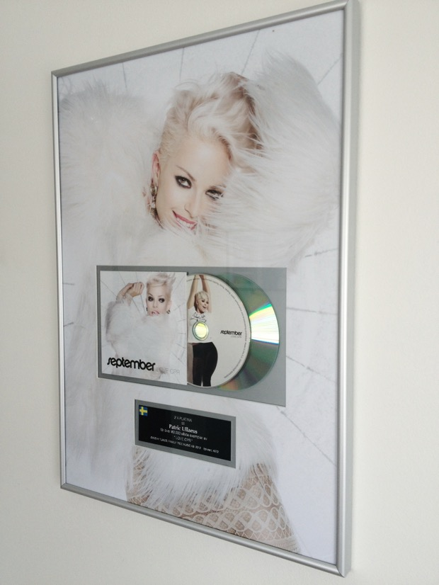 September Double Platinum Record